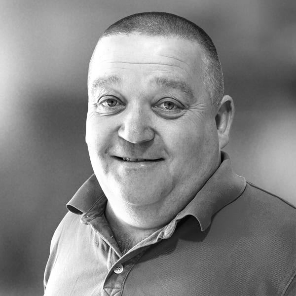 Smartzone Peter Burke Headshot Black & White