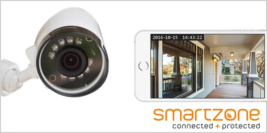Smartzone security camera installation